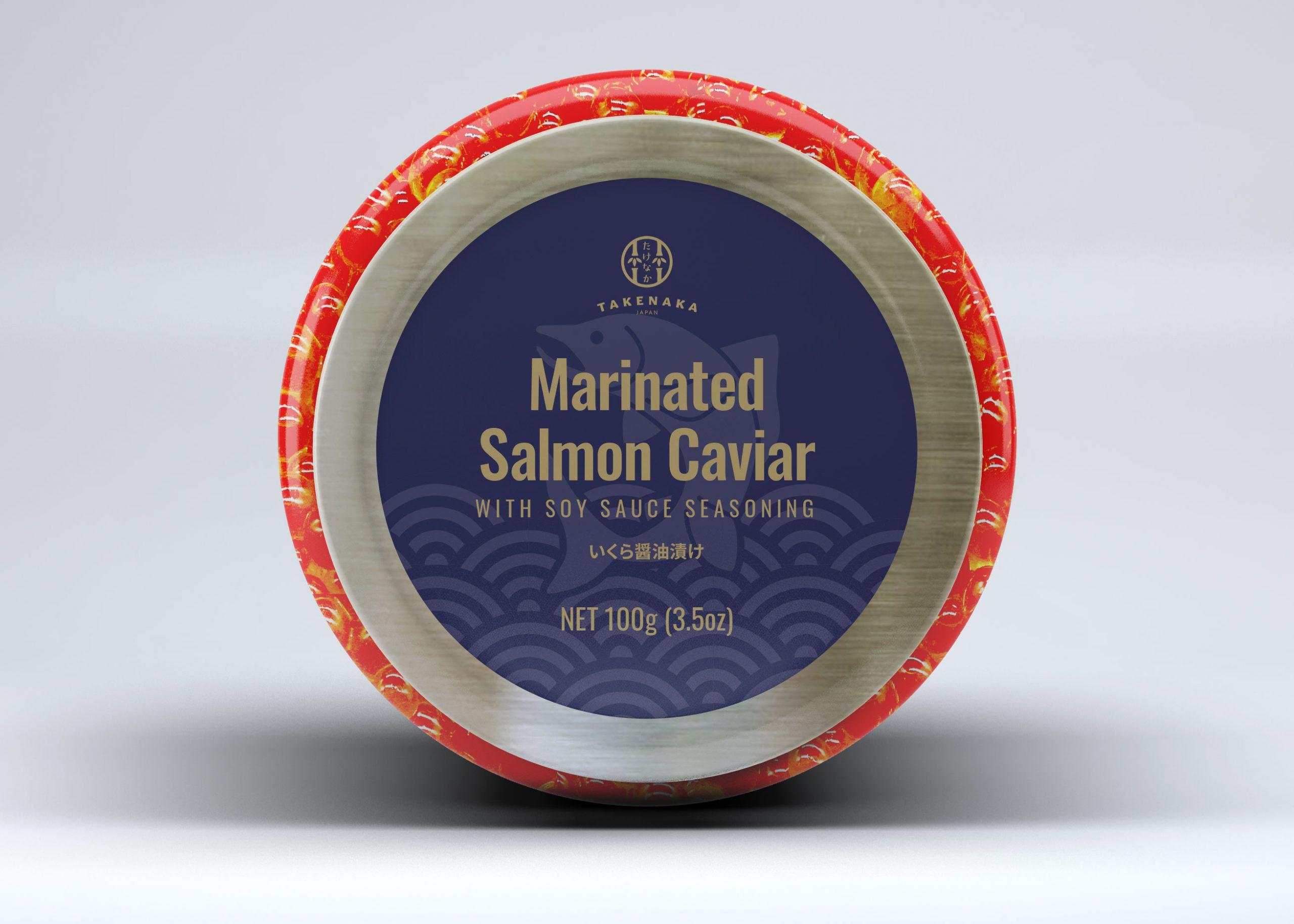 Package for Frozen Salmon Caviar(Ikura)